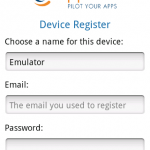 Capptain Device Register