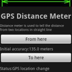 GPS Distance Meter