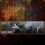 Halo Reach Clock