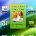 iFood Asst Recipe Widget