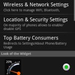Gauge Battery Widget Beta