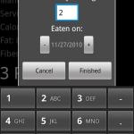 Diet Points Calculator