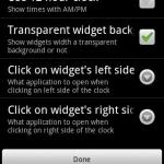 Flip Clock Widget Medium