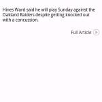 Steelers News