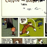 Calvin and Hobbes comic viewer