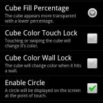 Bouncing Cube Live Wallpaper