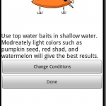 Bass Fishing Lure Calculator