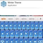 Winter Better Keyboard Skin