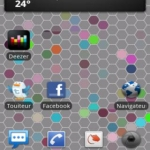 Live Wallpaper : The Hex Map