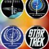 StarTrek Clock Set 9 Clocks