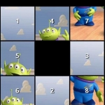 Toy Story Slide Puzzle