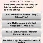 Song Lyrics Trivia  1990s