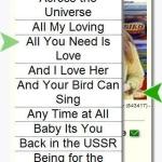 Beatles Top 101 Tour Keys