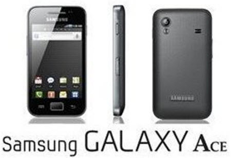 Samsung Galaxy Ace as a Wi-Fi